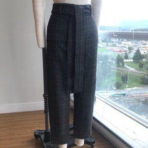 NWOT Wilfred Front Tie Belt Wool Pants
